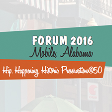 Forum 2016 - National Alliance of Preservation Commissions